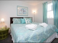 Spacious, comfortable king size bed, perfect for a couple or a couple of kids.
