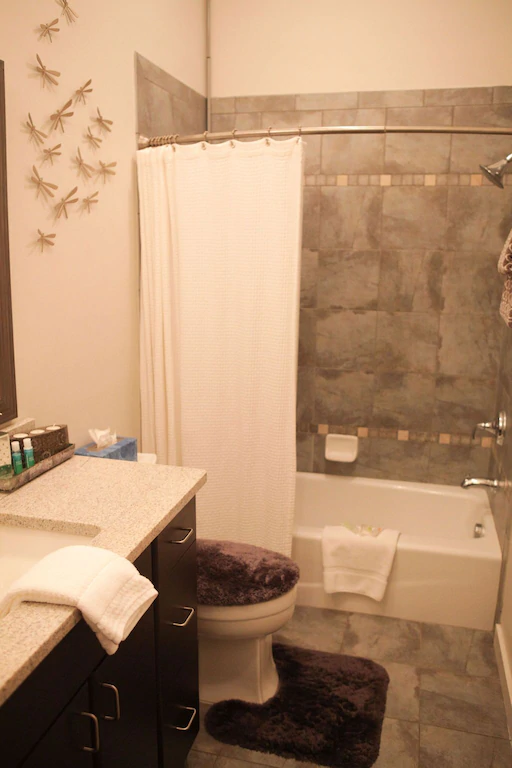 Savannah loft bathroom