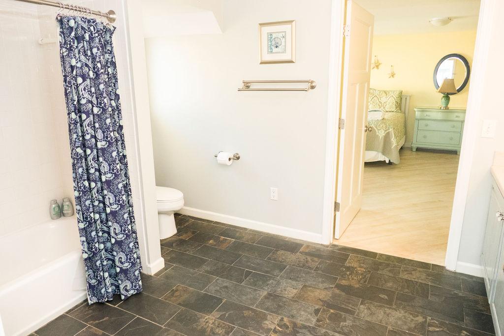 Bathroom at Sea Spray, a Tybee Island vacation rental home