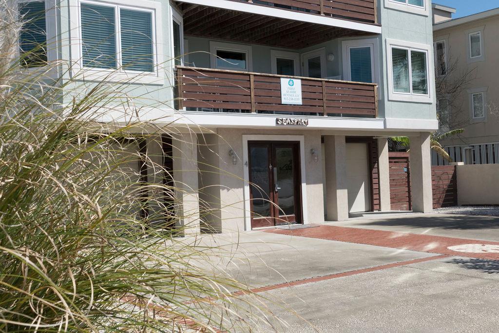 Sea Spray building, a Tybee Island vacation rental home