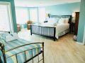 Bedroom at Sea Spray, a Tybee Island vacation rental home