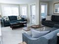 Living room at Sea Spray, a Tybee Island vacation rental home