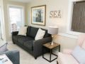 Couch at Sea Spray, a Tybee Island vacation rental home