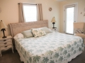 Bedroom at Silver Belles Condo located on Tybee Island