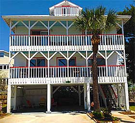 South End Cottage Tybee Island Rental